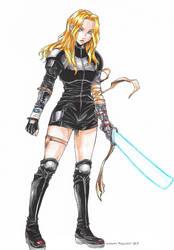 [C] D.D. Warrior Lady
