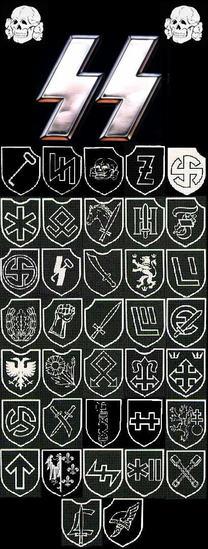 SS Divisions by Von-Richthofen on DeviantArt