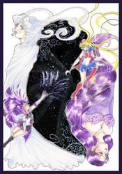 Sailor Astera VS Sailor Moon