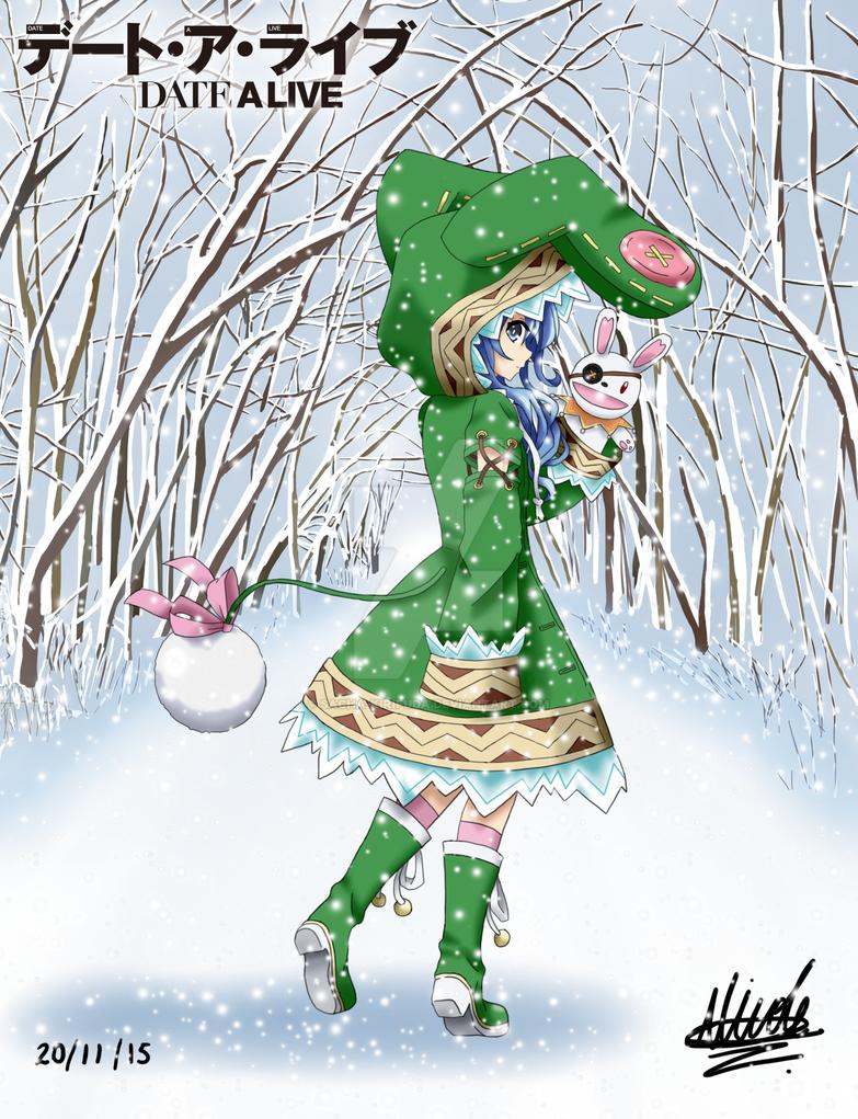 Yoshino (Nieve) - Date A Live by Sacha-Kirifuda