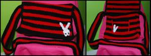 Littlest Emo Crochet Bag by Skissored