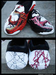 Venom and Carnage Shoes