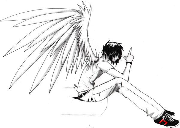 Last Book You Read... Emo_Angel_Boy___Loser_or_Gun__by_Skissored