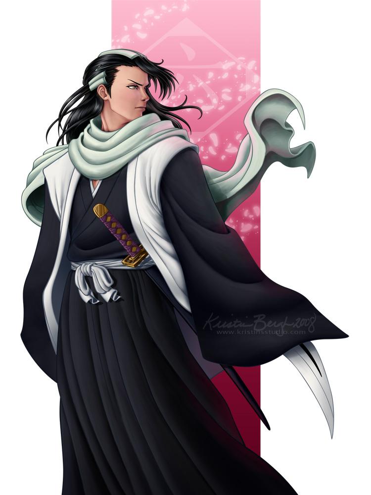 Senbon Zakura - Byakuya by KrisCynical