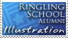 RSAD Illustration Stamp by KrisCynical
