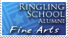 RSAD Fine Arts Stamp by KrisCynical
