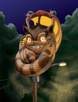 Totoro Transportation: Catbus