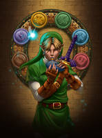 Musician of Time -- Link by KrisCynical