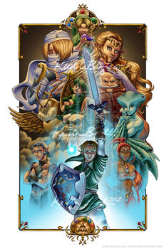 The Six Sages - Ocarina of Time Compilation