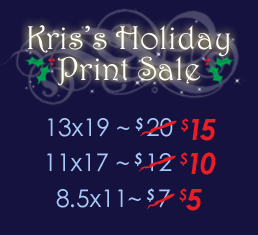 PrintSaleHoliday by KrisCynical