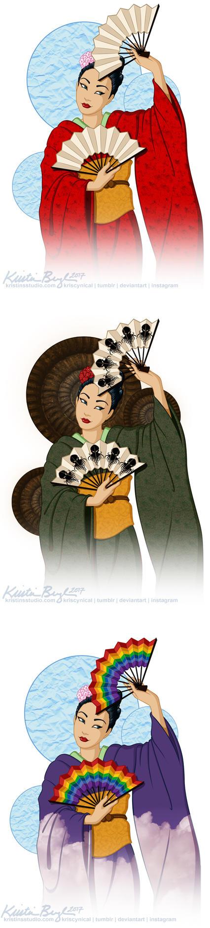 A-Kon 26 Geisha, 2015 by KrisCynical