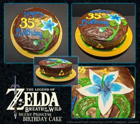 Silent Princess Birthday Cake