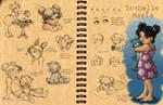 Isabelle Maria: Design Sheet