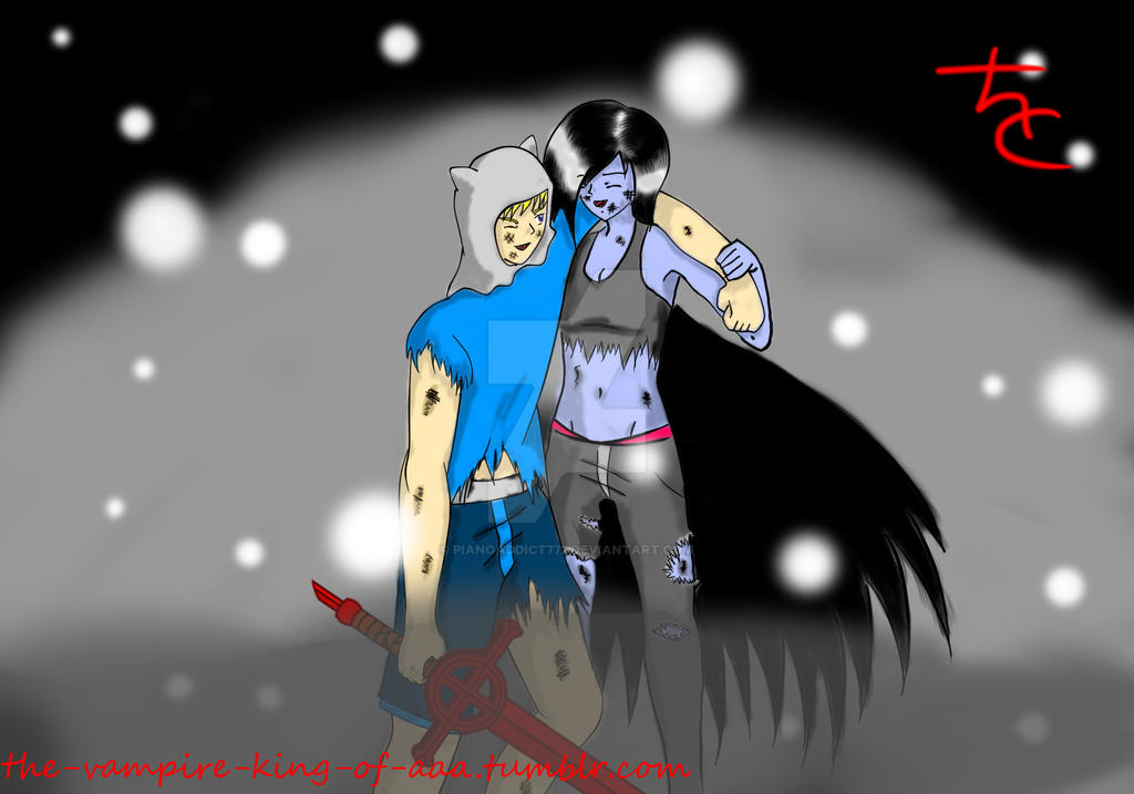 finn x marceline after the struggle by pianoaddict772 on deviantart
