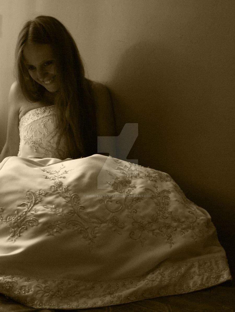 in dress III by LittleCuteWitch