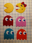 Pac-man gang by Ollumii