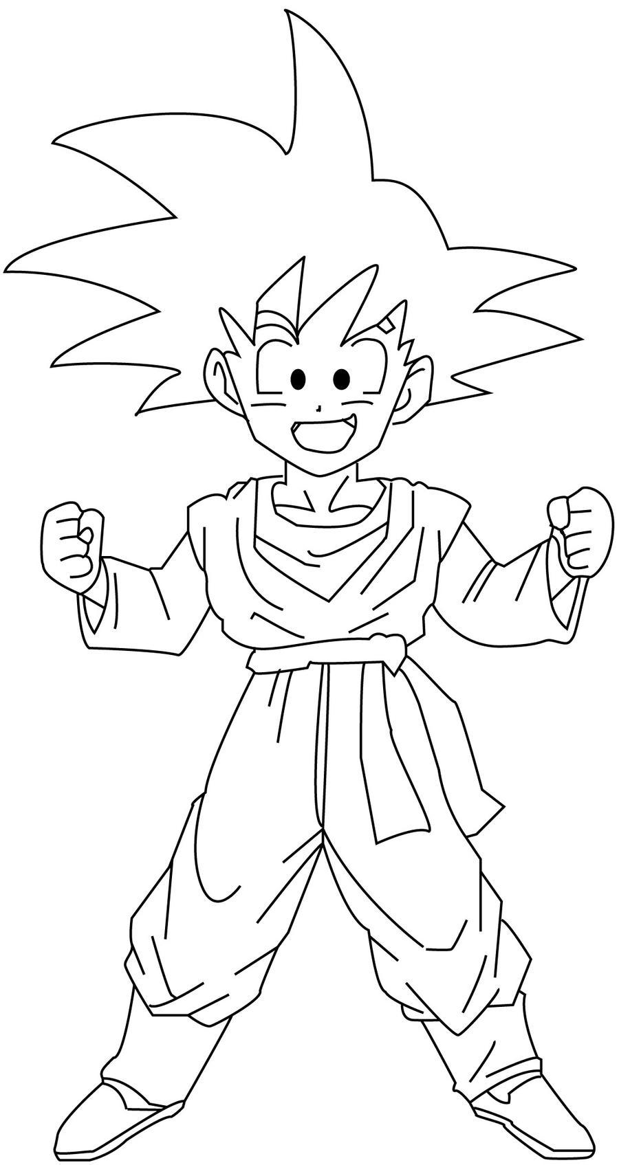 How To Draw Goten