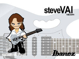 Steve Vai Chibi by roelworks