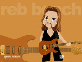 Reb Beach Chibi by roelworks