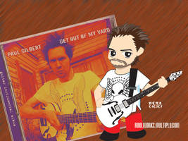 Paul Gilbert Chibi 1 by roelworks