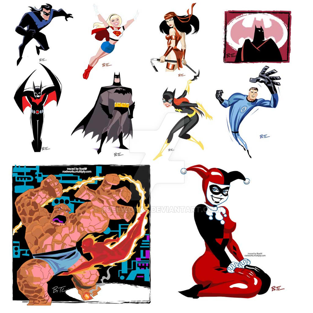 Tracing Bruce Timm