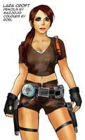 Lara Croft Tomb Raider Colour