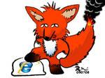Fox on Fire