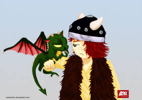 HTTYD: Hiccup and Toothless by roelworks