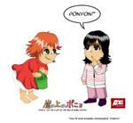 Ponyo and Khansa