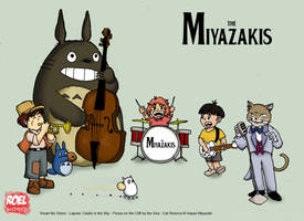 The Miyazakis by roelworks