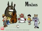 The Miyazakis