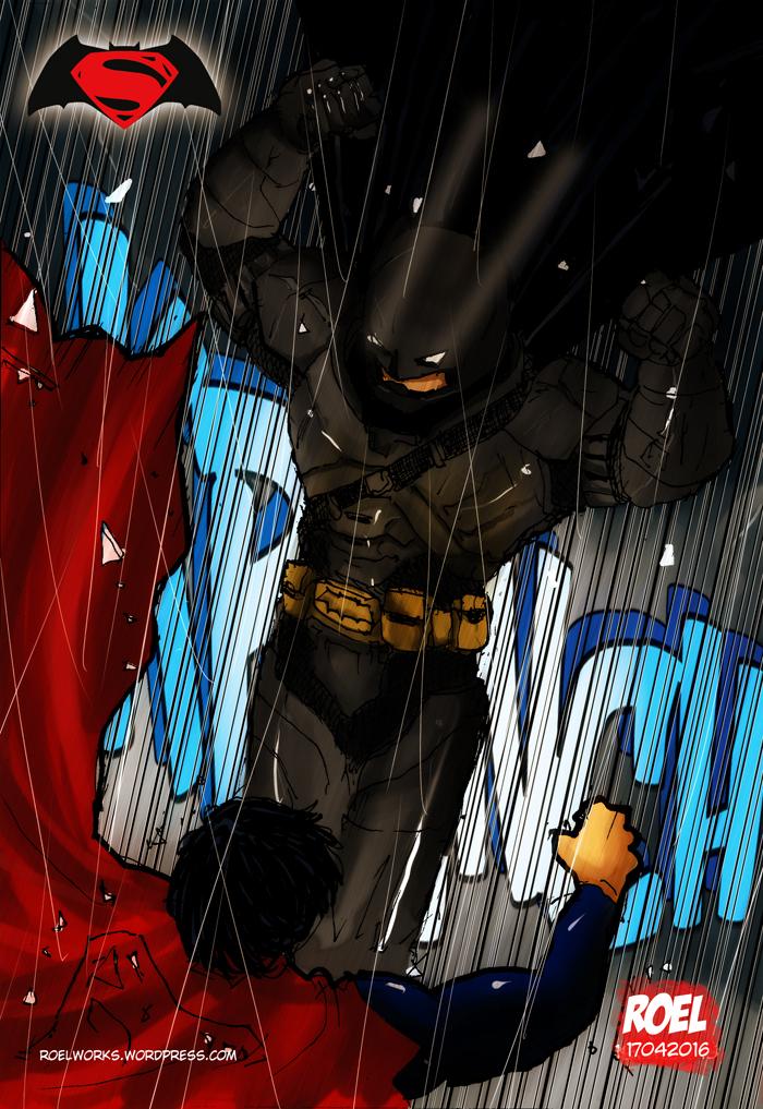 Batman Kicks@$$$ by roelworks