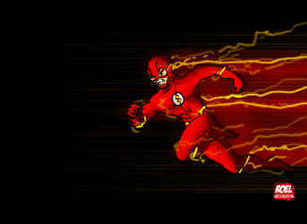 Run Barry! Run! by roelworks