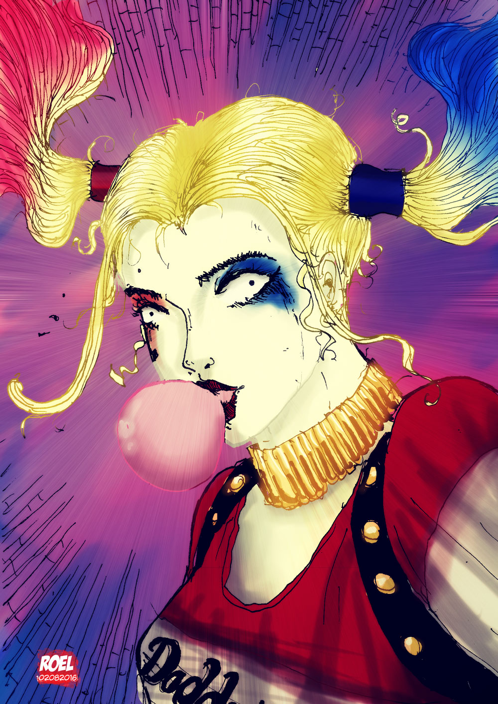 Harley Quin 2016 by roelworks