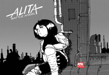Battle Angel Alita by roelworks
