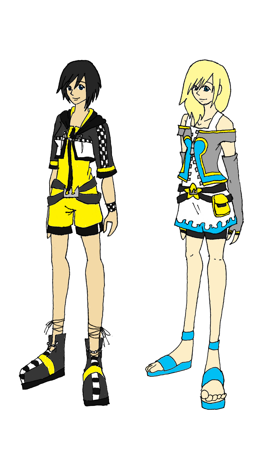 KH - Xion and Namine Concept by CherryBlossoms24 on DeviantArt