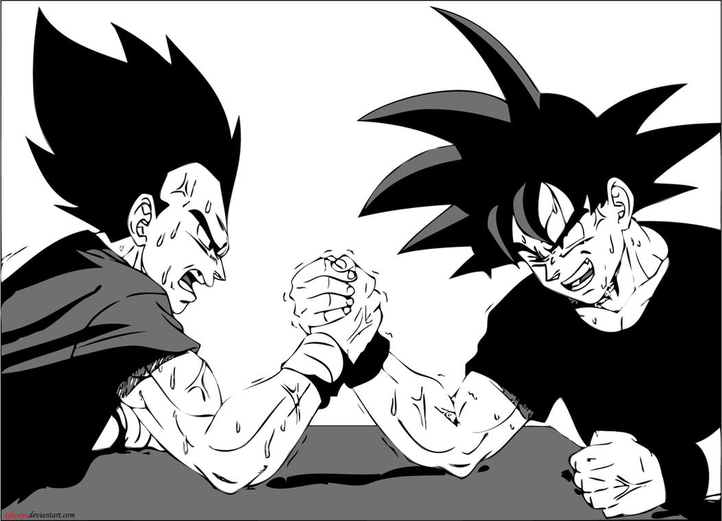 arm wrestling by sykosys on deviantart