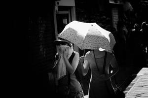 under the umbrela by ferg3110