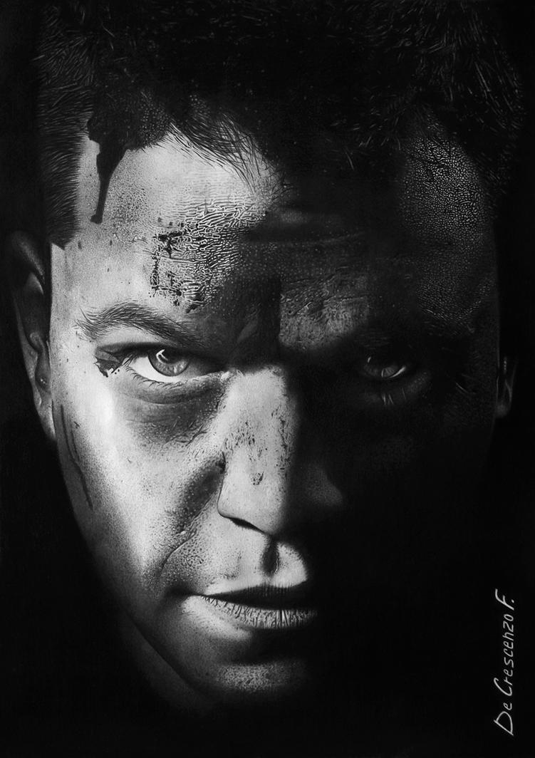 Matt Damon by Fabryart93