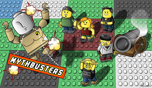 Mythbusters the LEGO