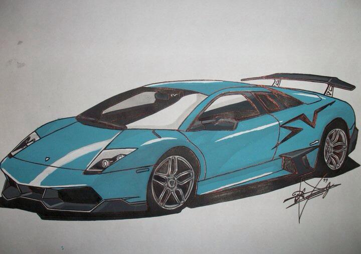 Turquoise Lamborghini Murcielago Lp670 Sv By Ricky89proo On Deviantart