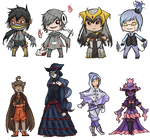 PKMN Gijinka Adoptables [CLOSED] by eeluminighty