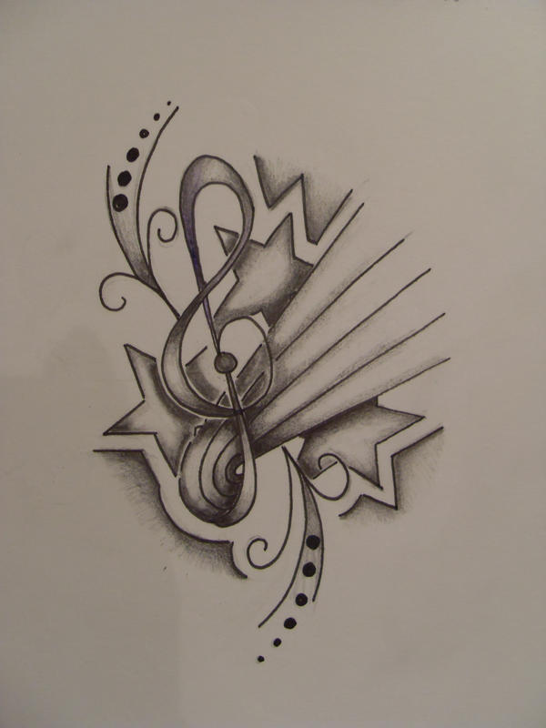 tattoo4 a friend starsmusic by rhiannealmond on deviantart