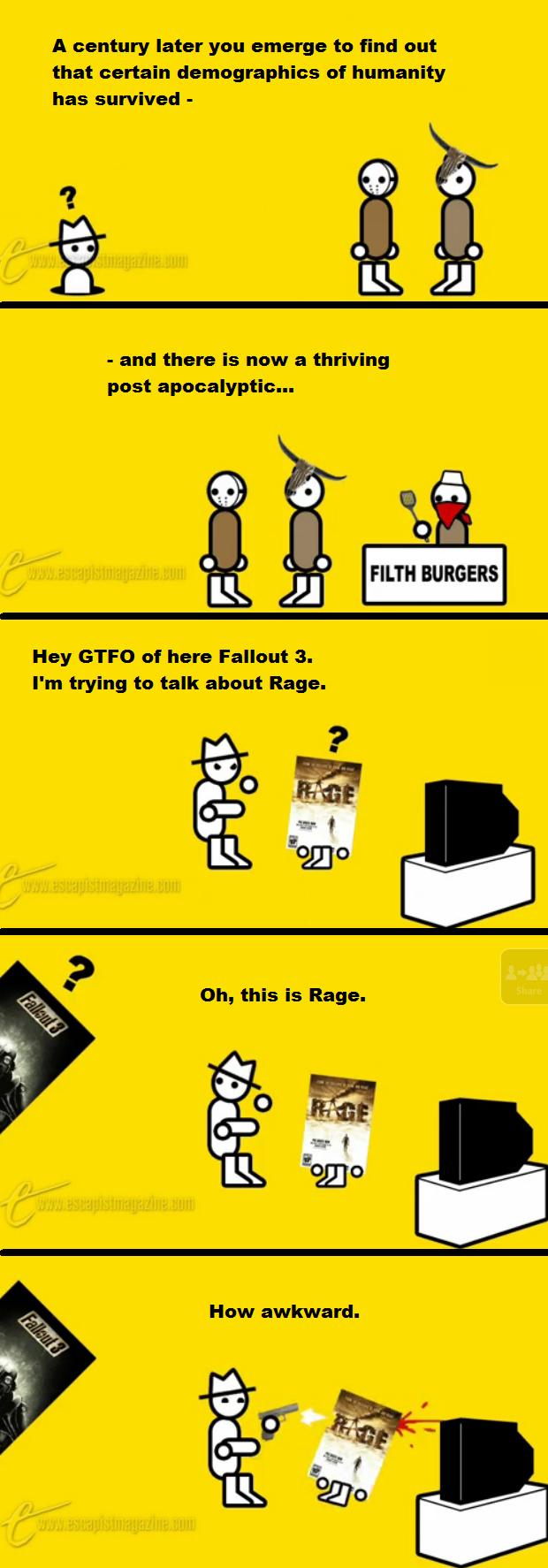 Zero Punctuation: Rage by Limeman on DeviantArt