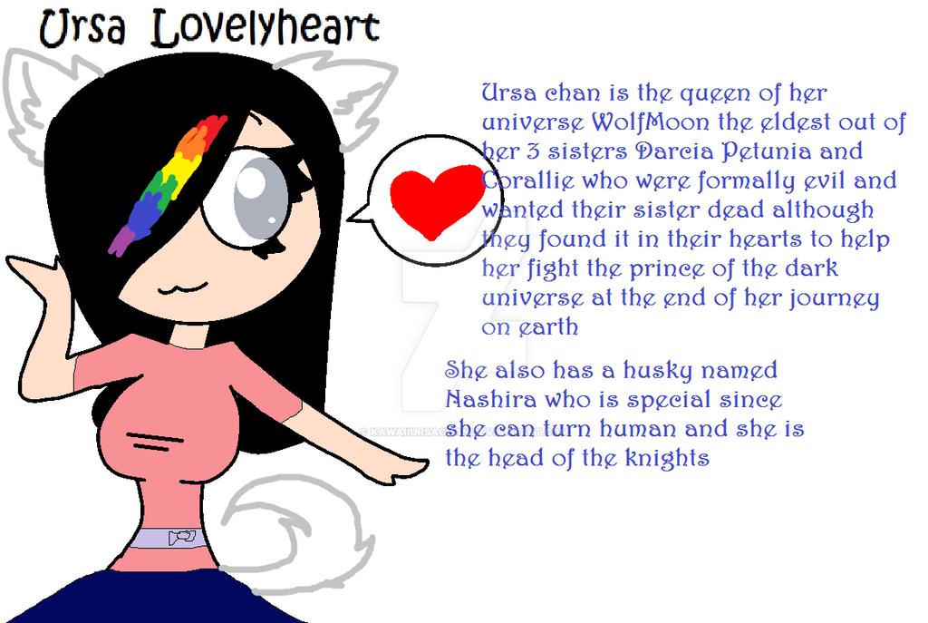 Ursa Lovelyheart by KawaiiUrsaChan