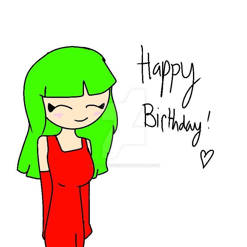 Happy Birthday FunkyChan! by KawaiiUrsaChan