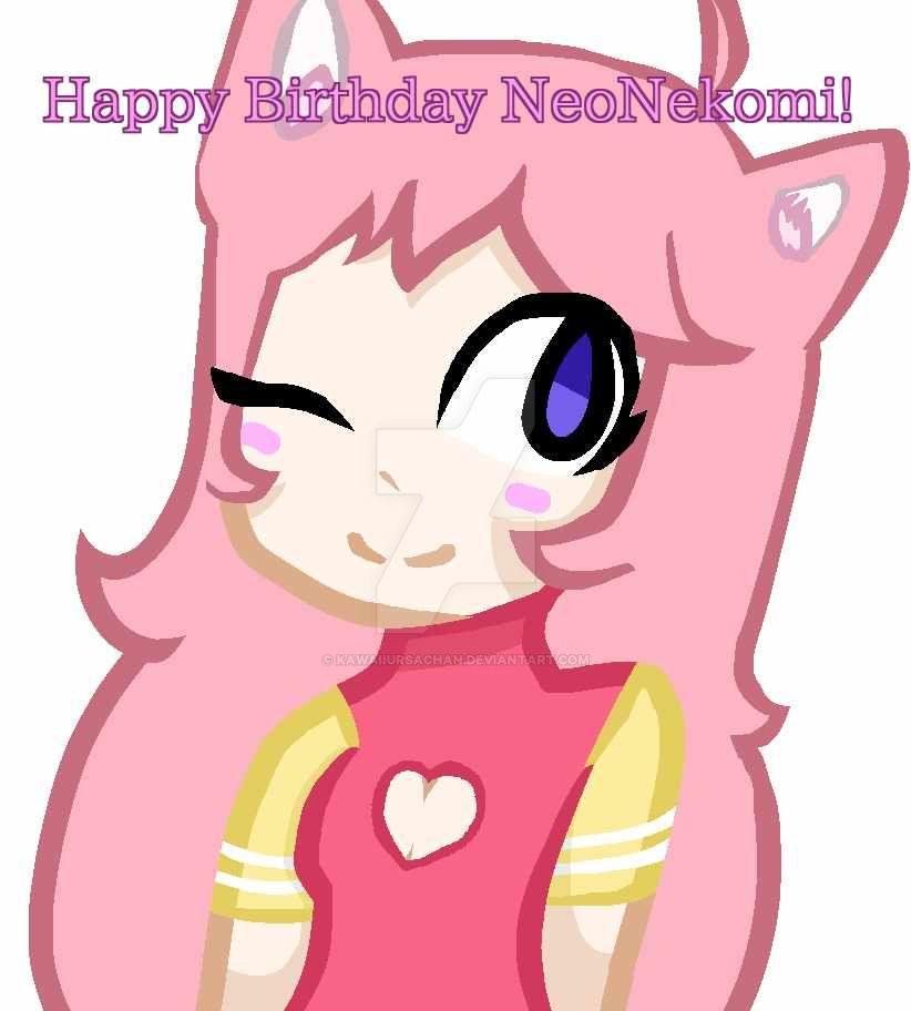 Happy Birthday Nekomi! by KawaiiUrsaChan