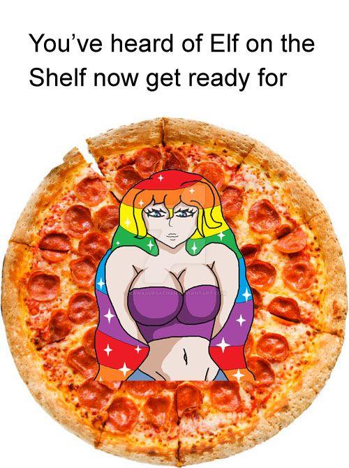 Reza the Pizza by KawaiiUrsaChan