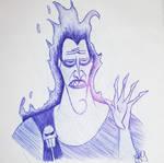 Fanart: Disney's Hercules / Hades is not amused by fude-chan-art