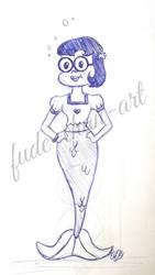 Request: Spongebob Squarepants / Princess Mindy  by fude-chan-art